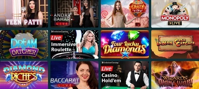 BetJungle Casino Games