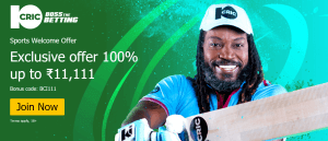 10CRIC Sports Offer